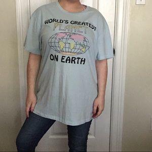 Aeropostale Tops - Aéropostale World's Greatest Planet Pastel T Shirt
